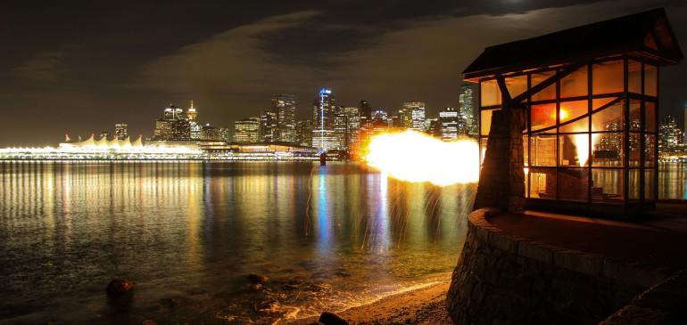 Nine O'Clock in Vancouver